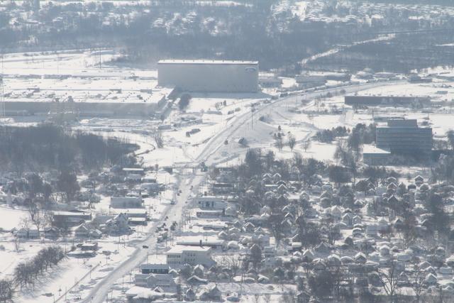 PHOTOS: Incredible aerial shots of Buffalo snow