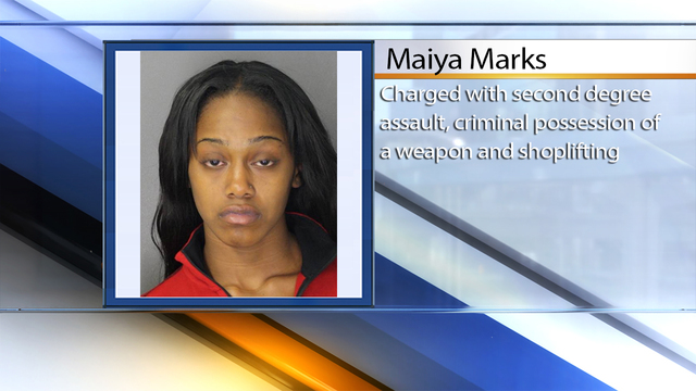 Buffalo woman wanted for stabbing Macy's security agent