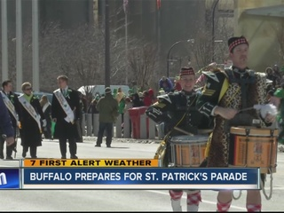 St. Patrick's Day Weather History