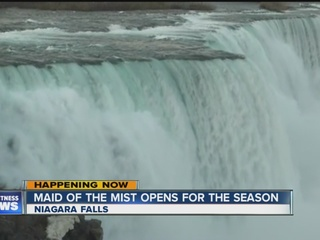 Maid of the Mist makes history