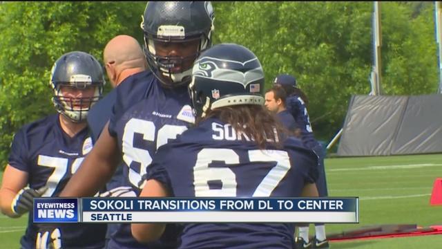 GAME Seattle Seahawks Kristjan Sokoli Jerseys