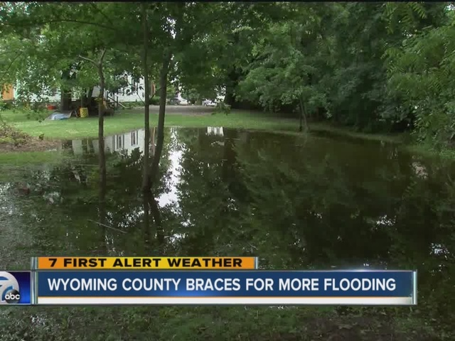 flooding help for village of attica
