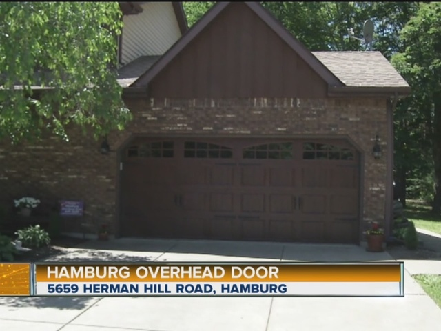 hamburg overhead door garage doors wkbw buffalo ny