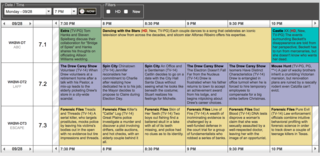Use this TV guide to see what's on Ch. 7