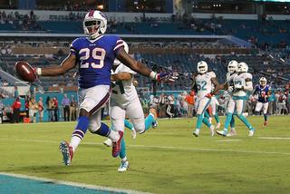 Bills RB Karlos Williams suspended 4 games