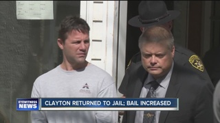 Man accused of murder back in jail for texting