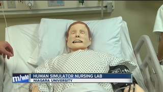 Niagara University has a new human simulator lab