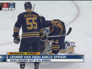 Sabres' Lehner pulls out of World Cup of Hockey