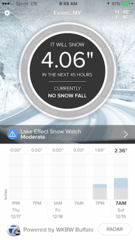 SnowCast app predicts how much snow you'll see