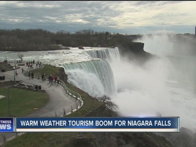 tourism to niagara falls up 245  this month