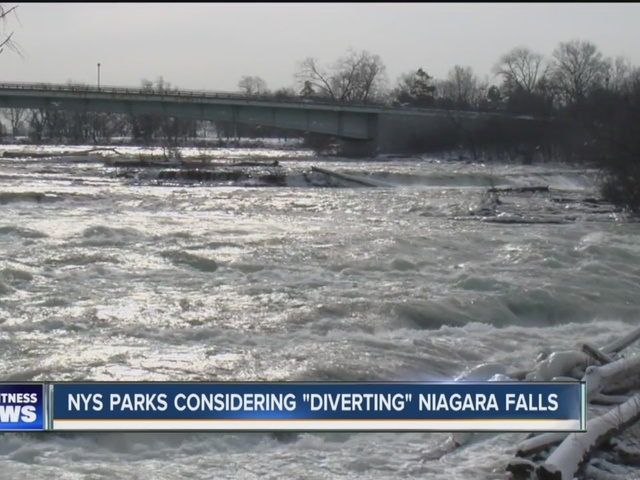 proposal would temporarily shut off niagara falls on