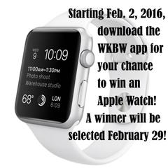 Win an Apple Watch by downloading WKBW app!