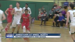 Jamestown boys, Emerson girls pick up wins