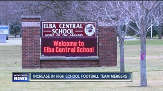 High school football mergers on the rise