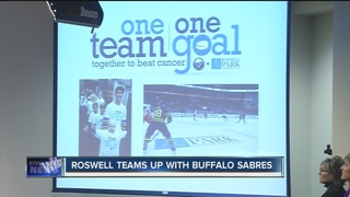 Sabres, Roswell Park launch prevention campaign