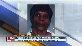 Police trying to find woman missing for a month
