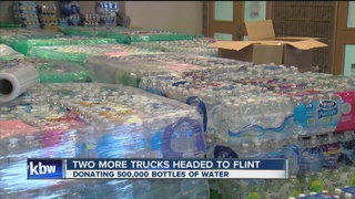 Local church leads water drive for Flint