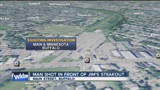 Man shot outside of Jim's Steakout in Buffalo