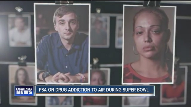 PSA on drug addiction to air during Super Bowl