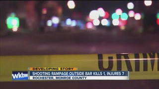 1 dead, 7 hurt in shooting at Rochester club