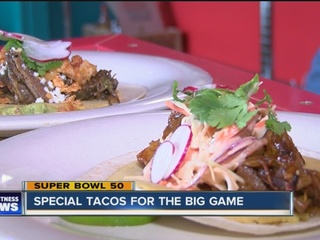 Buffalo restaurant creates tacos for big game