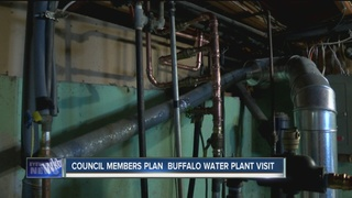 Council members plan Buffalo water plant visit