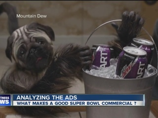 What makes a good Super Bowl commercial?