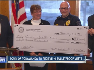 Local paramedics receive life-saving donation