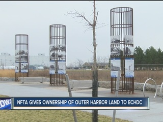 ECDHC acquires outer harbor land from the NFTA