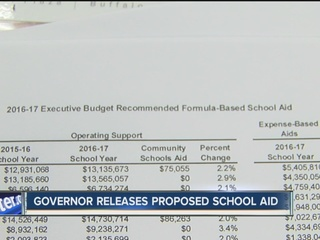 Schools react to proposed state funding