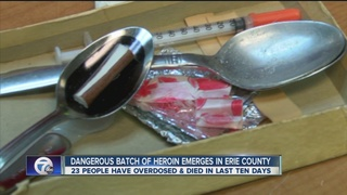 Dangerous batch of heroin emerges in Erie County