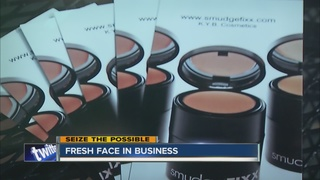 Local makeup line makes international headlines