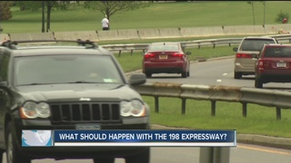 What should happen to the 198 Expressway?