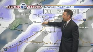 Sub-zero temperatures this weekend!