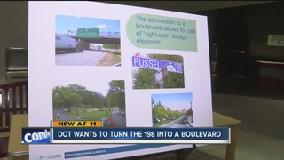 State DOT plans to turn Rt. 198 into a boulevard