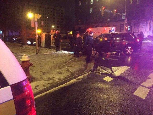 Rural/Metro ambulance, Jeep collide in Buffalo