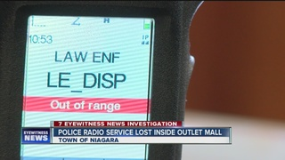 Cops lose radio communication inside WNY mall