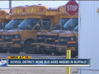 School District: More bus aides needed