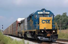 CSX train clips car in the Town of Alden