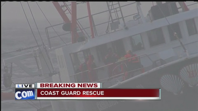Coast Guard boat overturns off NYC; crew swims to safety