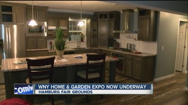 Home And Garden Vendors Have Taken Over The Hamburg Fair Grounds To Help  You Prepare Your House For Warmer Weather.
