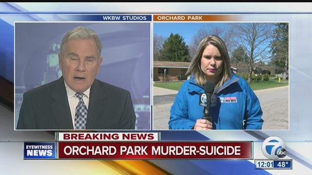 orchard park police investigate murder-suicide