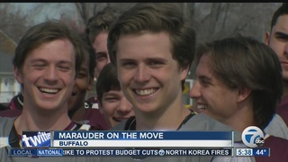 Super 7 athlete is a Marauder on the move