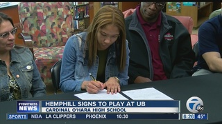 Local student athletes sign to play in college