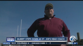 Gilbert steps down as St. Joe's head coach