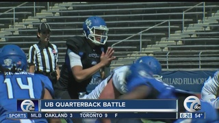 QB battle heats up at UB Spring Game