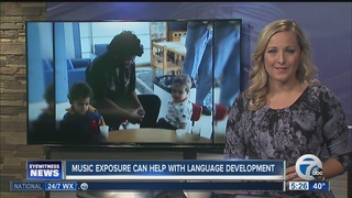 Music can help your baby's language development