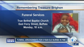 Funeral services announced for young burn victim