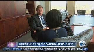 What's next for the patients of Dr. Gosy?