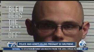 Man tells police he shot, killed pregnant ex